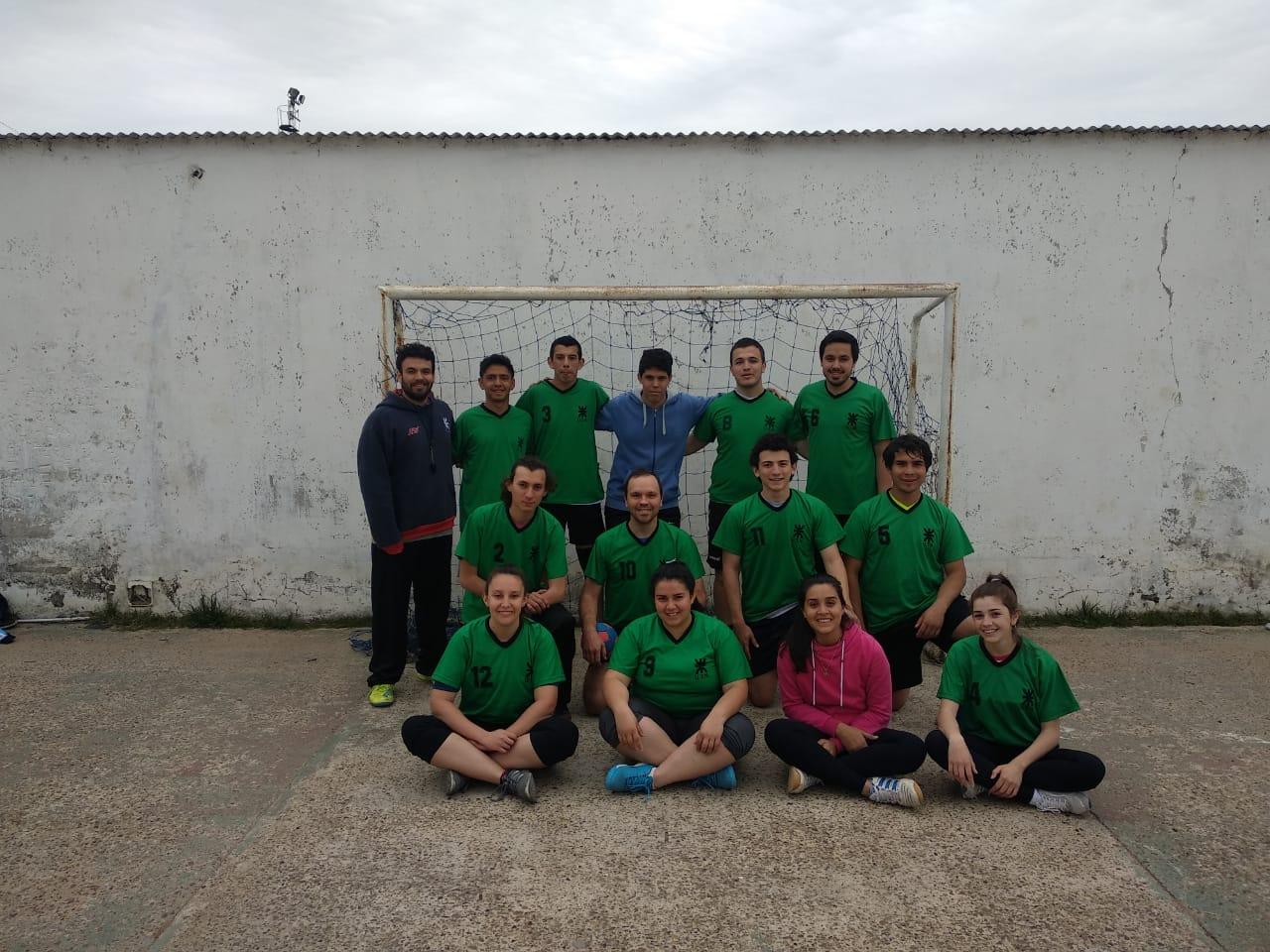Entrenamientos de los equipos de handball en la cuarentena