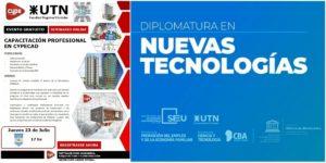 Un seminario y una diplomatura, todo gratuito desde UTN Córdoba
