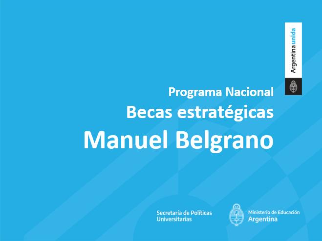 Presentación Becas Manuel Belgrano